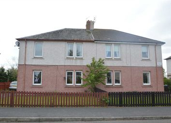 Thumbnail 1 bed flat for sale in Trows Road, Wishaw