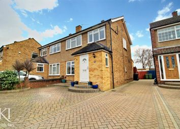 Thumbnail 3 bed semi-detached house for sale in Elm Drive, Cheshunt, Waltham Cross