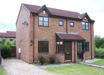 Thumbnail 2 bed semi-detached house to rent in Oakfield Close, Brigg