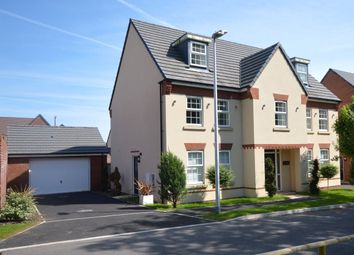 Thumbnail 5 bed detached house for sale in Veysey Close, Exeter