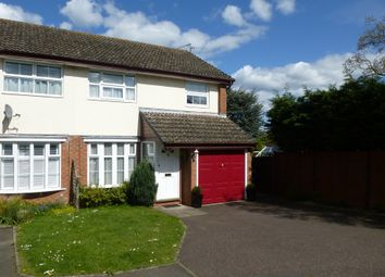 Thumbnail 3 bed semi-detached house for sale in Kershaw Close, Luton