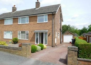 Thumbnail 3 bedroom semi-detached house to rent in Melrose Avenue, Westlands, Newcastle Under Lyme