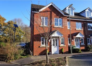 Thumbnail 3 bed end terrace house for sale in Hindmarch Crescent, Hedge End
