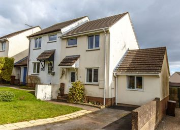 Thumbnail 2 bed semi-detached house for sale in Fernworthy Gardens, Copplestone, Crediton