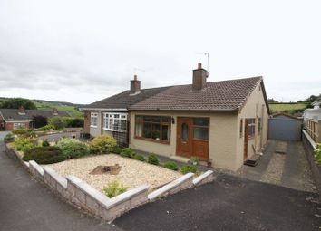 Thumbnail 2 bed semi-detached bungalow for sale in Churchill Avenue, Cheddleton, Staffordshire