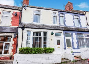 Thumbnail 3 bed terraced house for sale in Palmerston Road, Barry
