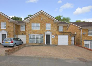 Thumbnail 4 bedroom semi-detached house for sale in Hartfield Avenue, Elstree, Borehamwood