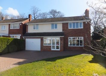 Thumbnail 4 bed detached house to rent in Essex Road, Four Oaks, Sutton Coldfield