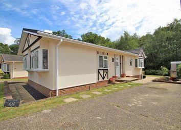 Thumbnail 2 bedroom mobile/park home for sale in Wyatts Covert, Denham, South Buckinghamshire