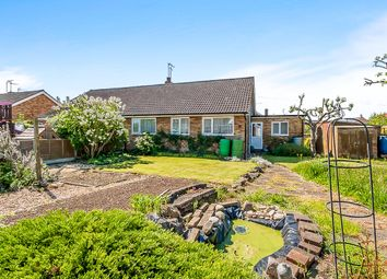 Thumbnail 3 bed semi-detached bungalow for sale in St Marys Close, Thorney, Peterborough