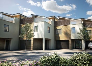 "Thumbnail 4 bedroom terraced house for sale in ""The Lembury Plot 57"" at St. Peters Quay, Totnes"