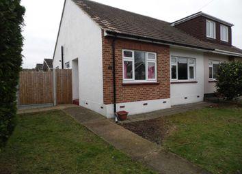 Thumbnail 2 bedroom semi-detached bungalow to rent in Kings Park, Hadleigh, Benfleet