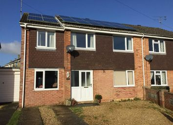Thumbnail 4 bed semi-detached house for sale in Fairfoot Close, Queens Crescent, Wiltshire