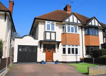 Thumbnail 3 bed semi-detached house for sale in Ewan Way, Leigh On Sea, Essex
