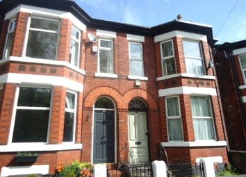 Thumbnail 1 bed flat to rent in Kennerley Road, Davenport, Stockport