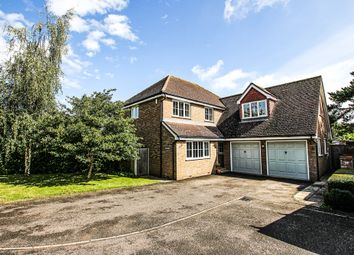 Thumbnail 5 bed detached house for sale in Carpenters Close, Gazeley