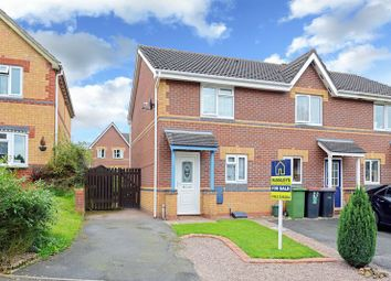 Thumbnail 2 bed terraced house for sale in Ragged Robin Close, St Georges, Telford