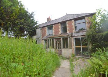 Thumbnail 2 bed semi-detached house for sale in Little Park, West Chilla, Beaworthy, Devon