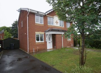 Thumbnail 2 bed semi-detached house for sale in Falcon Road, Wrexham