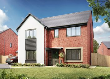 """Thumbnail 5 bedroom detached house for sale in """"The Marylebone"""" at Llantrisant Road, Capel Llanilltern, Cardiff"""
