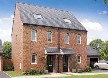 """Thumbnail 3 bedroom terraced house for sale in """"The Moseley"""" at Norwich Common, Wymondham"""