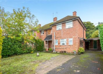 Thumbnail 3 bed semi-detached house for sale in Wickham Close, Church Crookham, Fleet