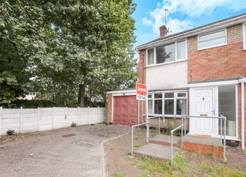 Thumbnail 3 bedroom end terrace house for sale in Barrington Close, Fordhouses, Wolverhampton