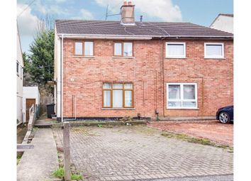 Thumbnail Semi-detached house for sale in Drumcliff Road, Leicester