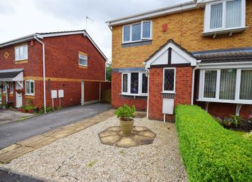 Thumbnail 2 bed semi-detached house for sale in Bronte Grove, Milton, Stoke-On-Trent