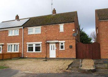 Thumbnail 3 bed semi-detached house for sale in Castle Avenue, Duston, Northampton