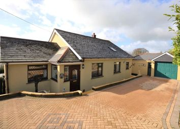 Thumbnail 4 bed detached bungalow for sale in St Anns Chapel, Gunnislake, Cornwall