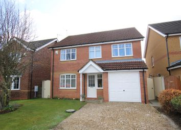 Thumbnail 4 bedroom detached house for sale in Wessex Close, Quarrington, Sleaford