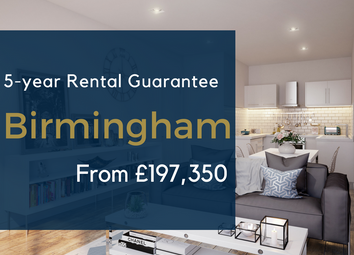 Thumbnail 1 bed flat for sale in Birchall Street, Digbeth, Birmingham