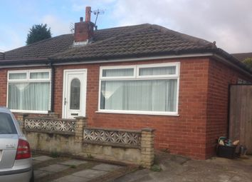 Thumbnail 3 bed semi-detached bungalow to rent in Westminster Drive, Haydock, St. Helens