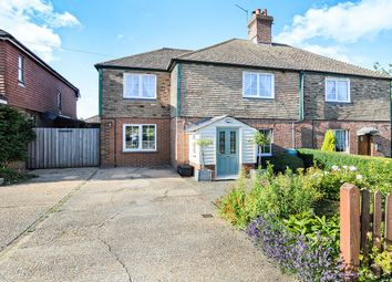 Thumbnail 3 bed semi-detached house for sale in Homestead Main Street, Beckley, Rye