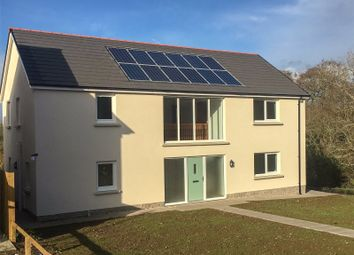 Thumbnail 4 bedroom detached house for sale in Lamphey (Plot 3), Green Meadows Park, Narberth Road, Tenby