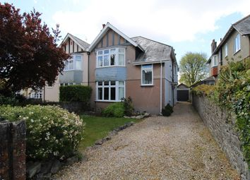 Hartley Park Gardens, Mannamead, Plymouth PL3. 3 bed semi-detached house for sale