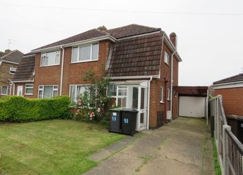 Thumbnail 3 bed semi-detached house for sale in Rowan Road, Lincoln