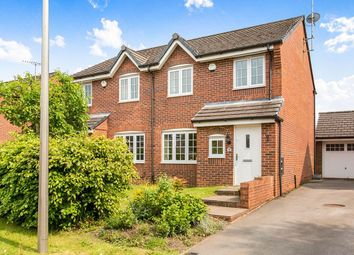 Thumbnail 3 bed semi-detached house for sale in Stanier Close, Lyme Green, Macclesfield