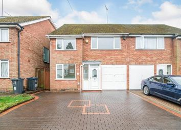Thumbnail 3 bedroom semi-detached house for sale in Fradley Close, Kings Norton, Birmingham, West Midlands