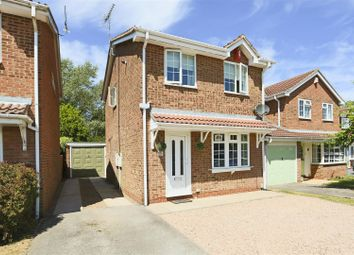 Thumbnail 3 bed detached house for sale in Bolingey Way, Hucknall, Nottingham
