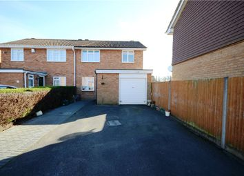 Thumbnail 3 bedroom semi-detached house for sale in Hopeman Close, College Town, Sandhurst