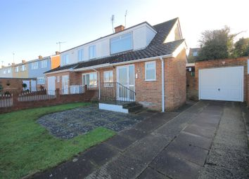 Thumbnail 2 bed semi-detached house for sale in Cobham Chase, Faversham