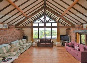 Thumbnail 5 bedroom barn conversion for sale in Collipriest, Tiverton
