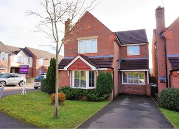 Thumbnail 3 bed detached house for sale in Darwin Close, Stone