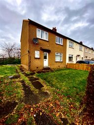 Thumbnail 3 bed end terrace house for sale in Reelick Quadrant, Glasgow