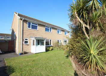 Thumbnail 3 bed semi-detached house for sale in Kestrel Drive, Mudeford