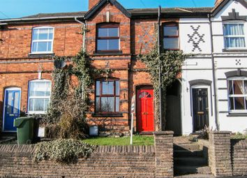 Thumbnail 2 bed terraced house to rent in Stoke Road, Aston Fields, Bromsgrove