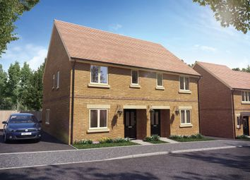 Thumbnail 3 bed semi-detached house for sale in Meadow Way, Wing, Leighton Buzzard