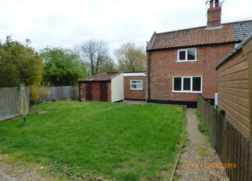Thumbnail 2 bedroom cottage to rent in Low Street, Ilketshall St. Margaret, Bungay